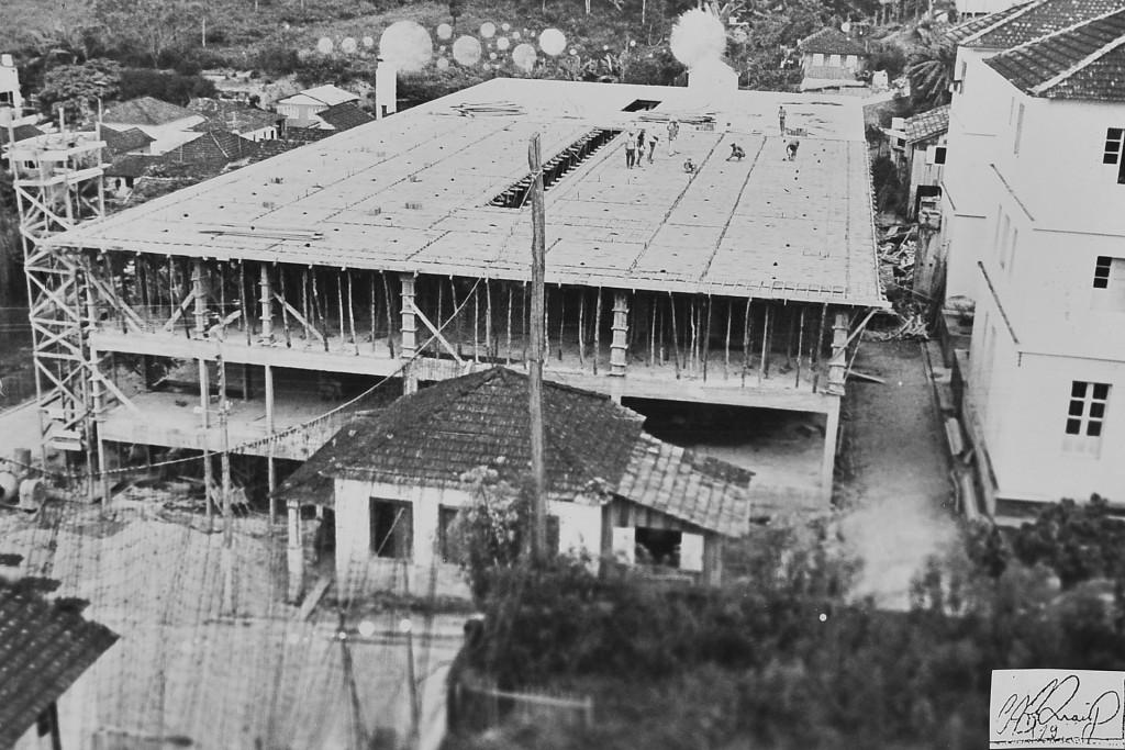 Construção do Hospital São Francisco de Assis